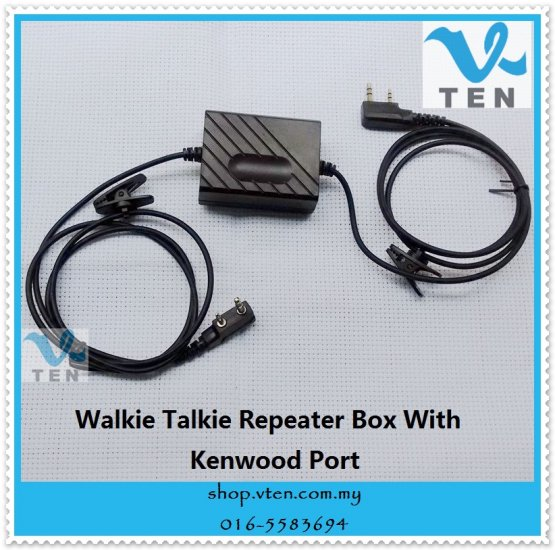 DIY Repeater For Walkie Talkie DIY 2-Way Radio Repeater [F